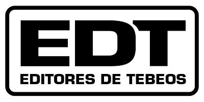 Logo EDT. Editores de Tebeos