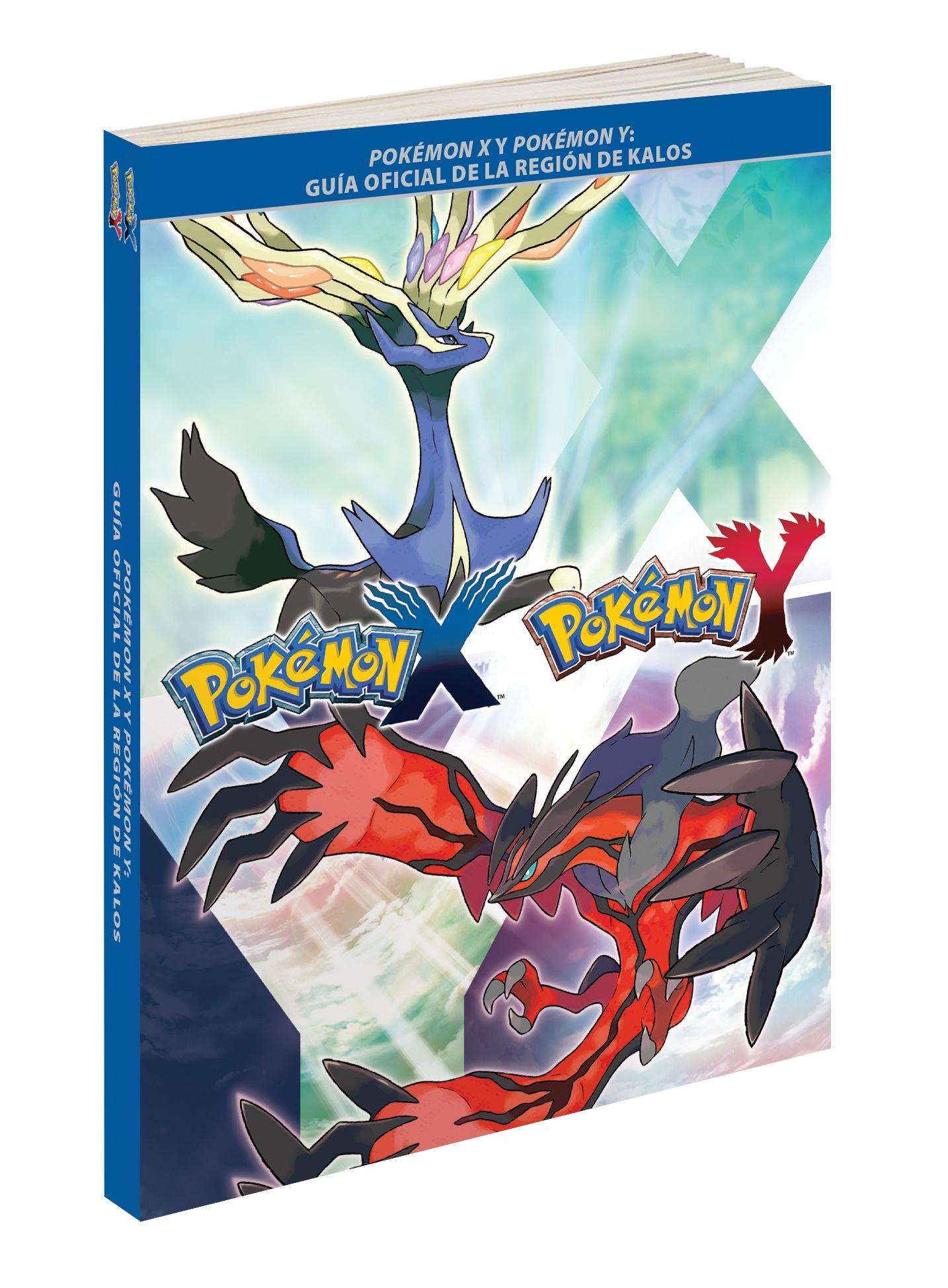 Pokémon X y Pokémon Y Guía oficial_carátula