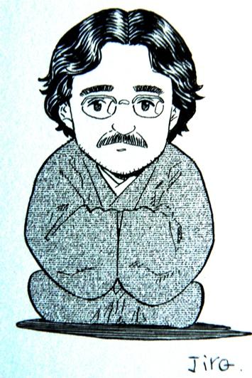 jiro-taniguchi-caricatura