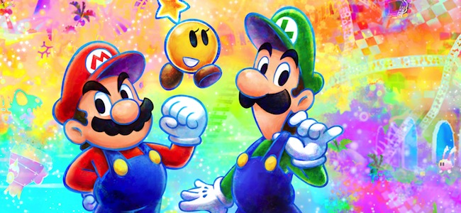 mario and luigi dream team bros 3ds nintendo